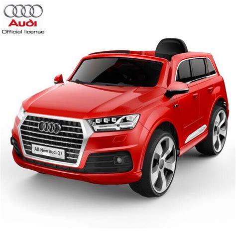 auto macchina elettrica per bambini audi q7 12v rosso 1