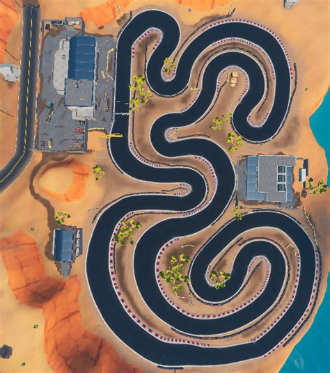 race track poimapping fortnite wiki