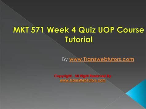 12 best mkt 571 week 4 quiz images on puzzle