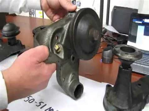 flathead water pumps and their ford part numbers