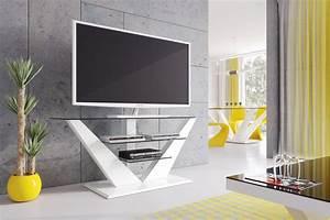Fernsehtisch Schwarz Glas : fernsehtisch hl 111 wei hochglanz glas led tv m bel rack lcd hochglanzm bel tv m bel ~ Indierocktalk.com Haus und Dekorationen