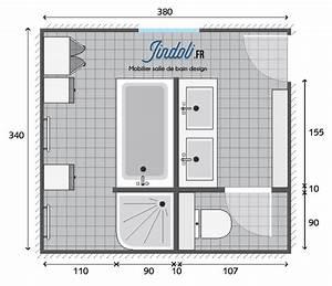 Plan Salle De Bain 7m2 : salle de bain 6m2 plan salle de bain 6m2 plan id es d co salle de bain plan exemple plan de ~ Dode.kayakingforconservation.com Idées de Décoration