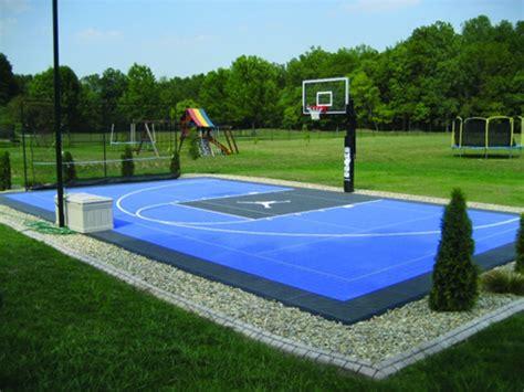 Backyard Basketball Court Construction Florida, One Stop