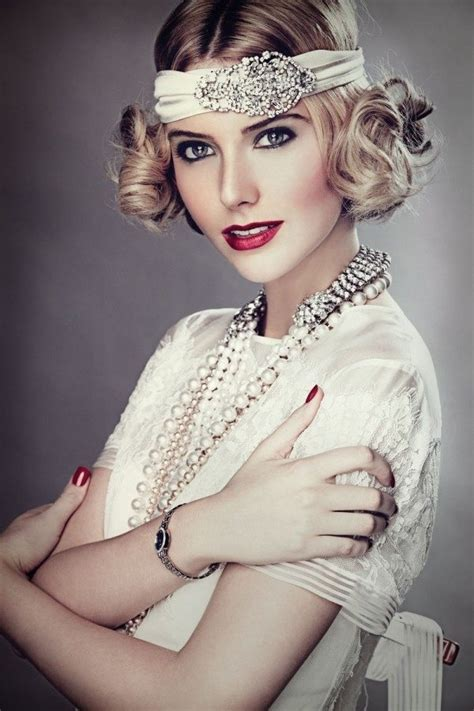 1920s Flapper Hair And Makeup   LONG HAIRSTYLES