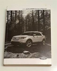 2014 Ford Explorer Owner U0026 39 S Manual
