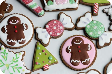 decorated christmas cookie xmasblor