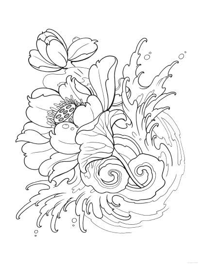 Creative Haven Modern Tattoo Designs Coloring Book | Modern tattoos, Tattoo design book, Tattoo