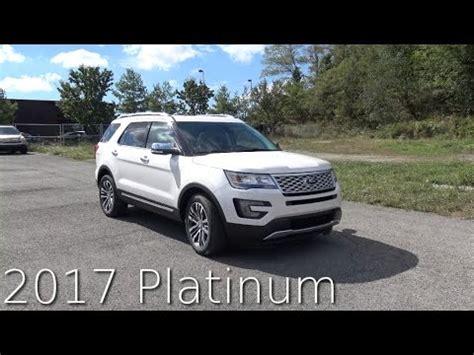 2017 ford explorer platinum 2017 ford explorer platinum review in 4k autovlog youtube