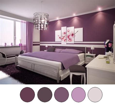 Purple Color Schemes For Bedrooms by The Bronze Butterfly Bedroom Redo