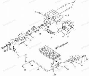 Polaris Atv 1997 Oem Parts Diagram For Rear Brake Magnum