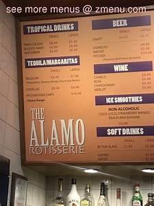 menu of alamo restaurant restaurant valencia