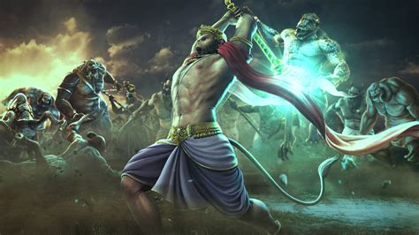 Hindu God Animation Wallpaper - god hanuman animated wallpaper wordzz