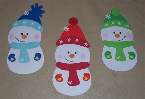 Fensterbilder Weihnachten Basteln Kindergarten by 3 S 252 223 E Schneem 228 Nner Fensterbild Aus Tonkarton Eur 6 00
