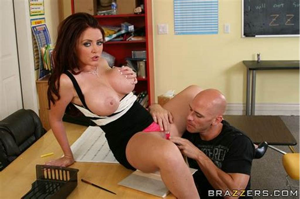 #Cute #Teacher #With #Big #Boobs #Sophie #Dee #Gets #Pleased #With