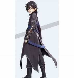 Sword Art Online Hollow Realization Kirito Cosplay Costume