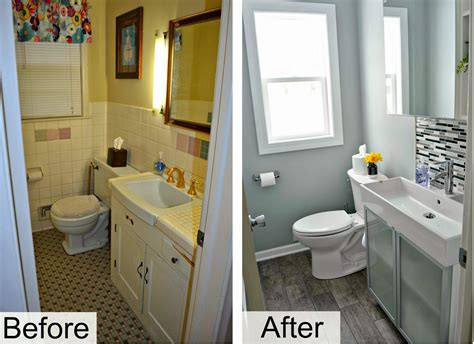 Small Bathroom Renovation Ideas Pictures by Small Bathroom Renovation Ideas Before And After