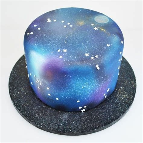 ideas  galaxy cake  pinterest galaxy