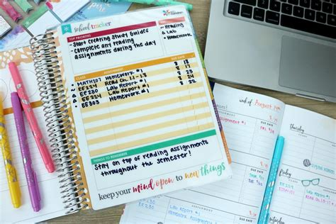 student planner how to organize your student planner 2017 hayle