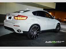 BMW X6 custom wheels Lexani CSS 15 24x100, ET , tire size
