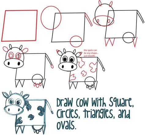 basic shape drawings  kids drawings art gallery