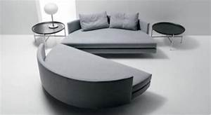 Lit Rond But : photos canap design rond ~ Teatrodelosmanantiales.com Idées de Décoration