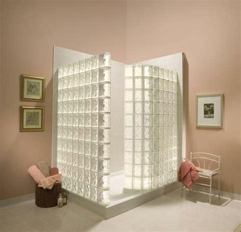 salle de bain brique de verre mettons des briques de verre dans la salle de bains