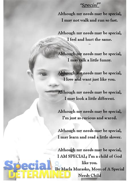 special education poems  quotes quotesgram