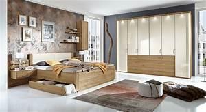 Teilmassives schlafzimmer komplett mit schubkastenbett for Schlafzimmer komplett