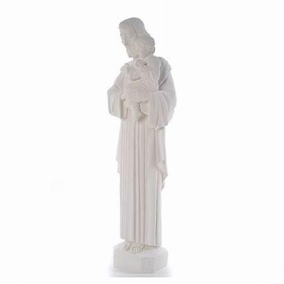 Joseph Statue Heiliger Marmorpulver Giuseppe San Marmo