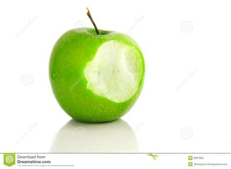Apple bite stock photo. Image of nutritious, delicious ...