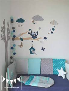décoration chambre bebe stickers