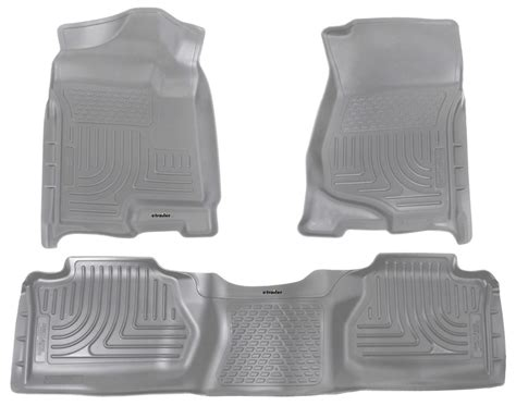 floor mats gmc husky liners floor mats for gmc sierra 2011 hl98212