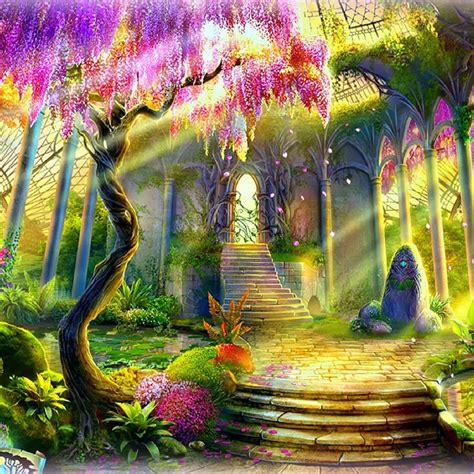 the magic garden magic garden live wallpaper app ranking and store data app annie