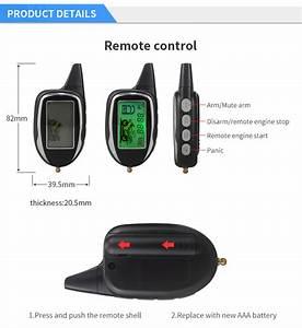Motion Sensor Shock Sensor Remote Engine Start 2 Way