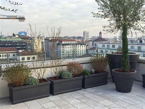 terrazzo pensile progetto di giardino pensile per terrazzo a