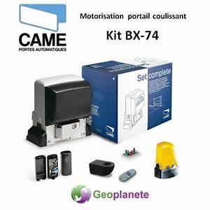 Came Bx 74 : motorisation portail coulissant came kit complet bx 74 ~ Melissatoandfro.com Idées de Décoration