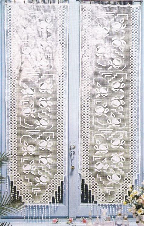 tuto crochet rideaux