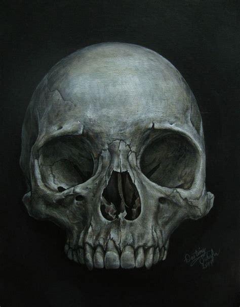 Skull Painting Gimmegammi Deviantart
