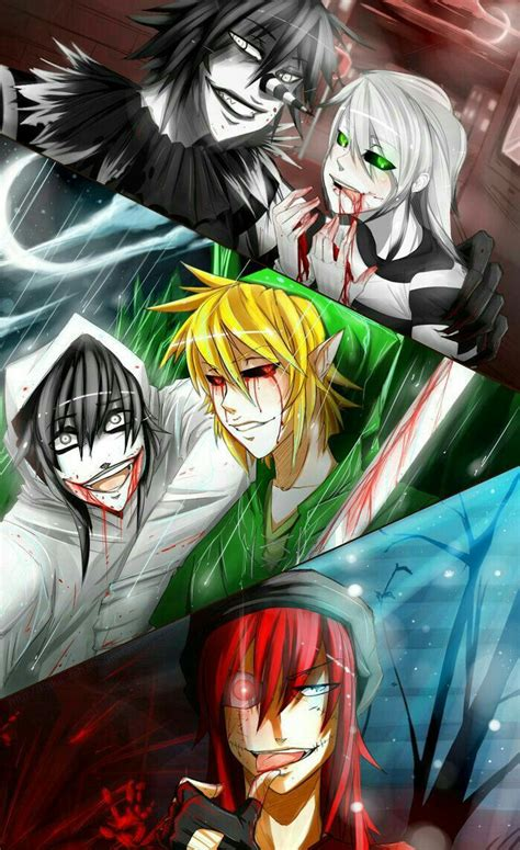 Ben Drowned Anime Wallpaper - laughing jeff the killer ben drowned zero