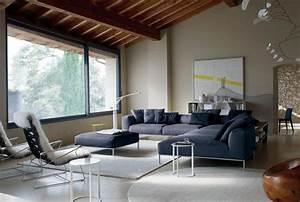 Teppich Landhausstil Blau : sofa in grau 50 wohnzimmer mit designer couch ~ Markanthonyermac.com Haus und Dekorationen