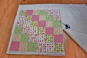 Decke Selber Nähen : patchworkdecke quilten anleitung wie man eine decke n ht ~ Lizthompson.info Haus und Dekorationen