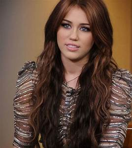 Miley Cyrus Hairstyle. Have it. Long cut. Dark and light ...
