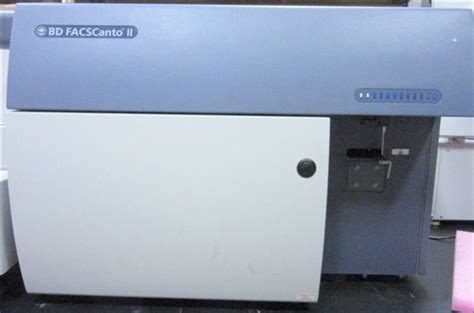 BD Bioscience FacsCanto II Flow Cytometer | Marshall ...