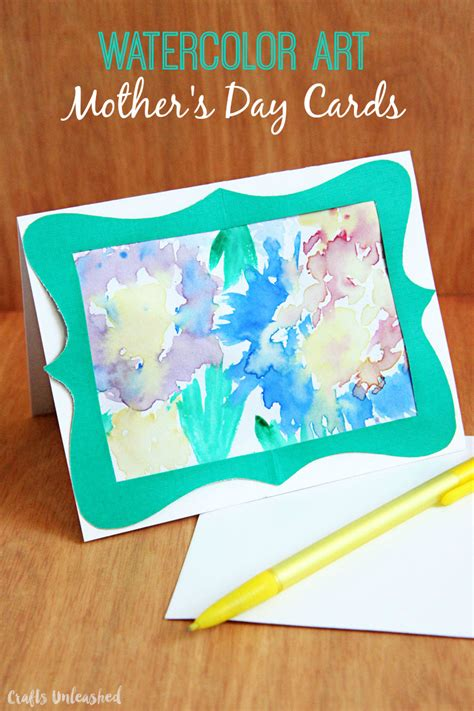 s day card craft easy watercolor s day card crafts unleashed 4997