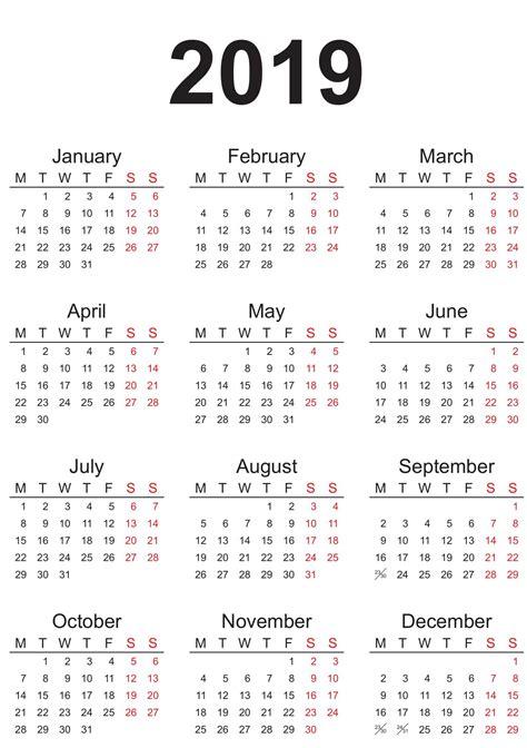 australian yearly calendar  printable  calendar