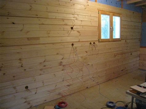 comment poser du lambris mural lambris page 2 auto construction d une maison en bois massif