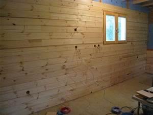 Pose Lambris Bois : franck page 8 auto construction d 39 une maison en bois ~ Premium-room.com Idées de Décoration