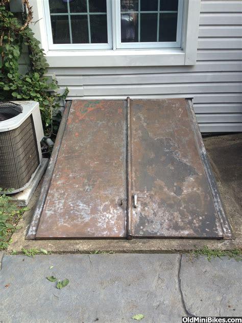 bilco paint doors metal rust removing painted oldminibikes bedliner