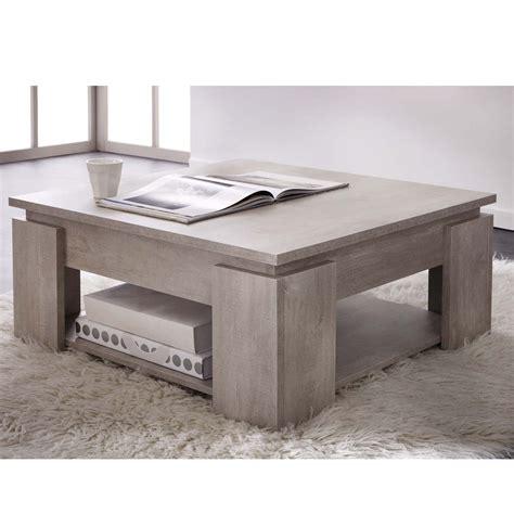 poser sa cuisine table basse chêne chagne segur dya shopping fr