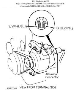 Alternator Not Charging Electrical Problem Cyl Two